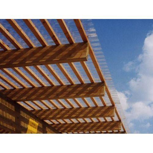 Onduline viļņotā PVC jumta loksne 1.0mm 2000x950mm caurspīdīgs