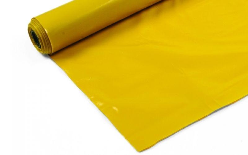 Polietilēna plēve 0.150 mm, 300cm, 75m2 dzeltena