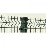 PVC pārklāts 3D žoga panelis 1,03x2,5m, acs 50x200mm, stieple Ø5mm, ražots EU (000580)