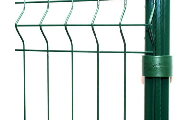 PVC pārklāts 3D žoga panelis 1,53x2,5m, acs 50x200mm, stieple Ø4mm, ražots EU (000568)