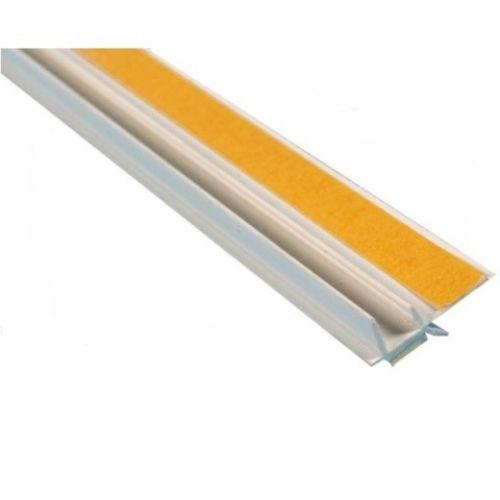 PVC pašlīmējošais loga profils 6mm x 2.4m