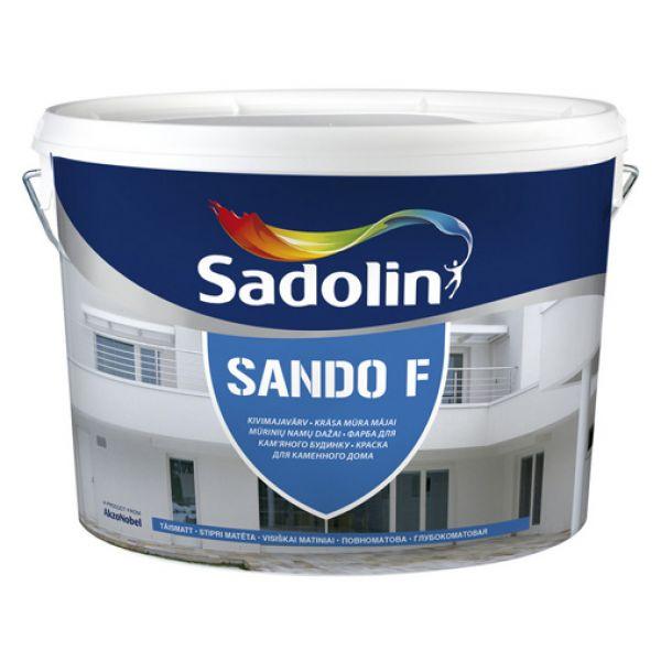 Sadolin Sando F krāsa fasādēm