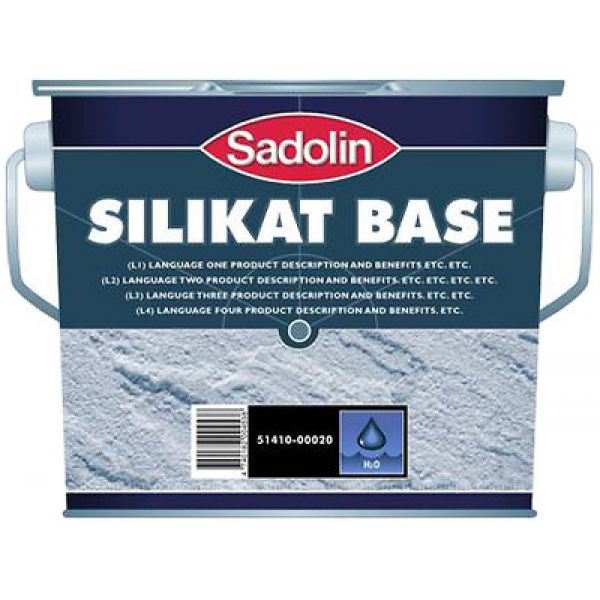 Sadolin Silikat Base silikāta gruntskrāsa fasādēm