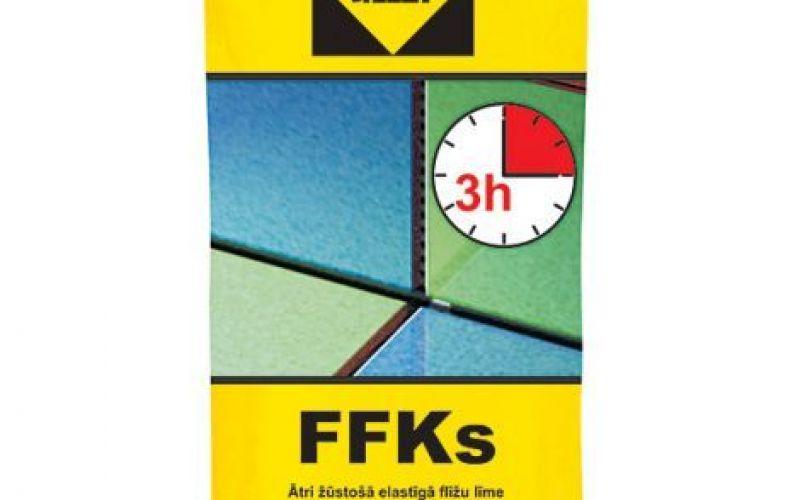 Sakret Ātri cietējošā īpaši elastīgā flīžu līme C2FT FFKS 25kg