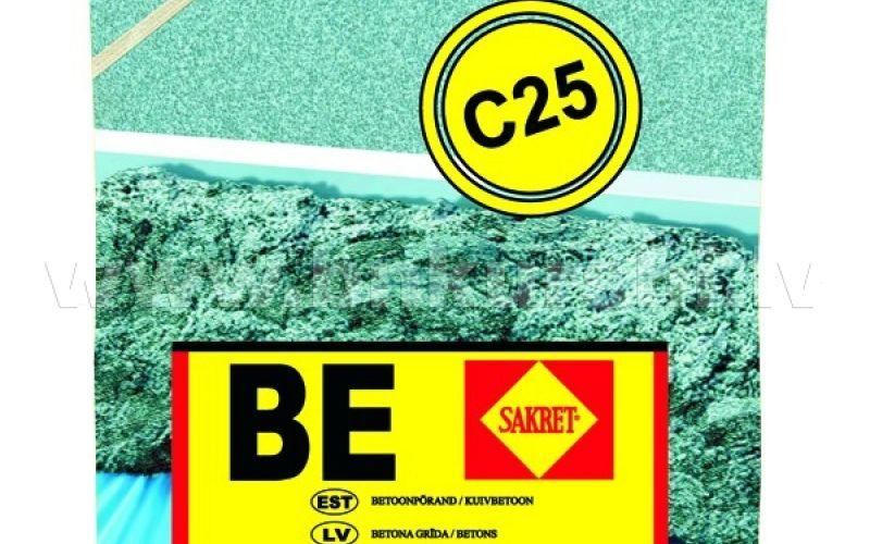 Sakret BE Betons-klons C25, 25kg