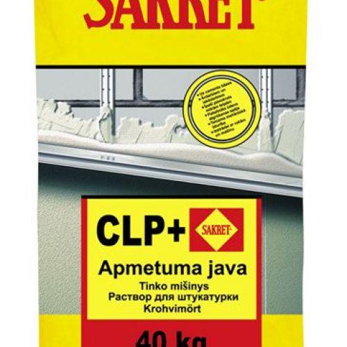 Sakret CLP+ Apmetuma java, pelēka, 25kg