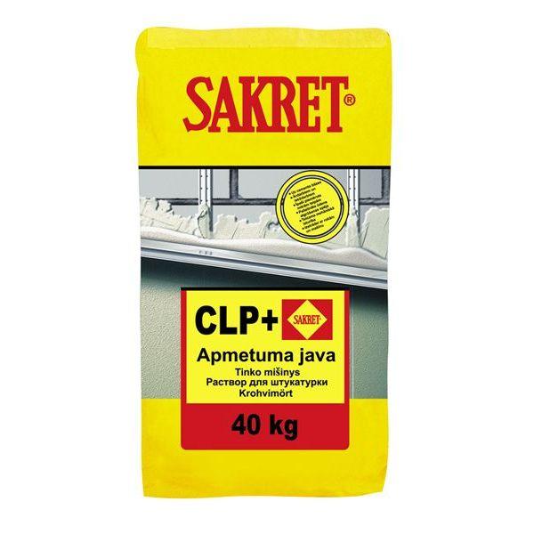 CLP+ Sakret- Apmetuma java
