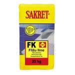 Sakret Tile adhesive stable surface white C1 FK 25kg