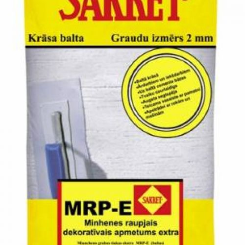 SAKRET MRP-E 2mm dekoratīvais apmetums (lietutiņš),25kg