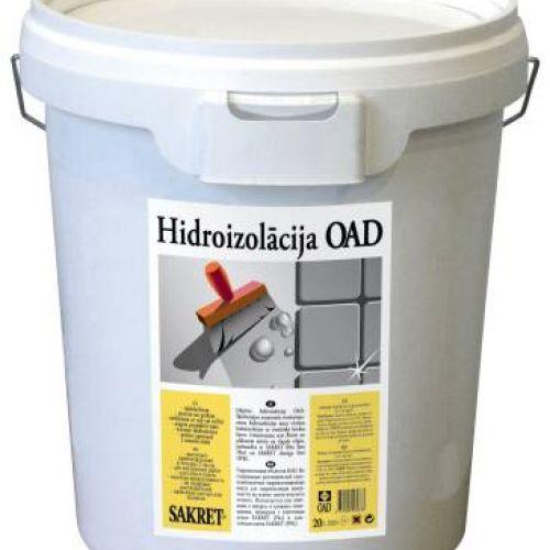 SAKRET OAD, Virsmas hidroizolācija, 5kg