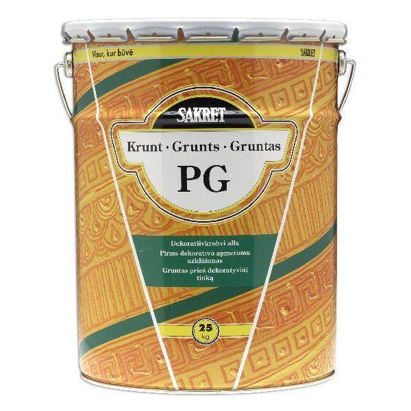 Sakret PG Grunts pirms dekoratīvā apmetuma