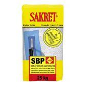 SBP Sakret декоративная штукатурка (творог)