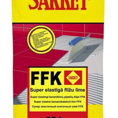 Sakret Super elastīga flīžu līme C2TE S1 FFK 25kg