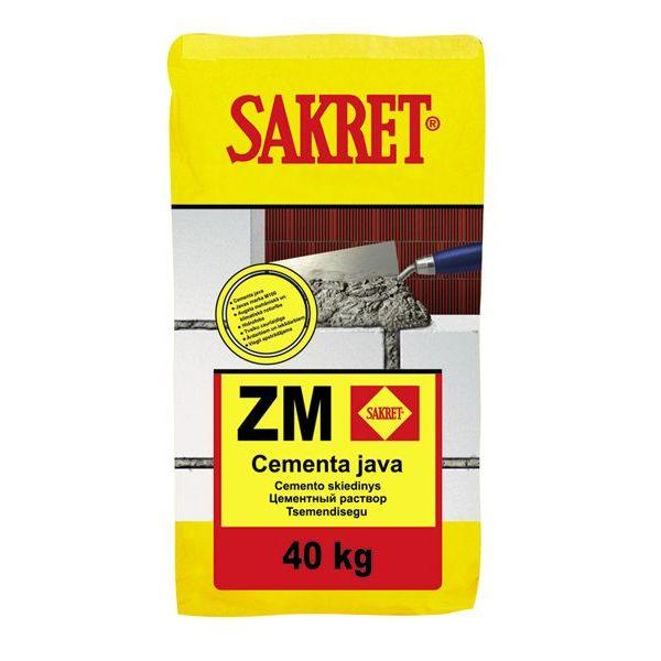 ZM - Cementa java mūrēšanai un apmešanai, klase M10