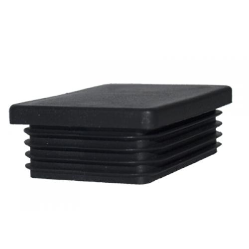 Stabu cepurīte 40x60 iekšēja, melna, 10gab (000801)