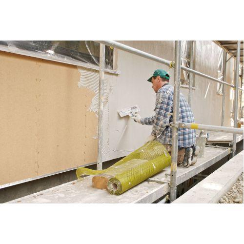 Steico Protect fasādes kokšķiedras plāksnes ar spundi 1325x600x40mm