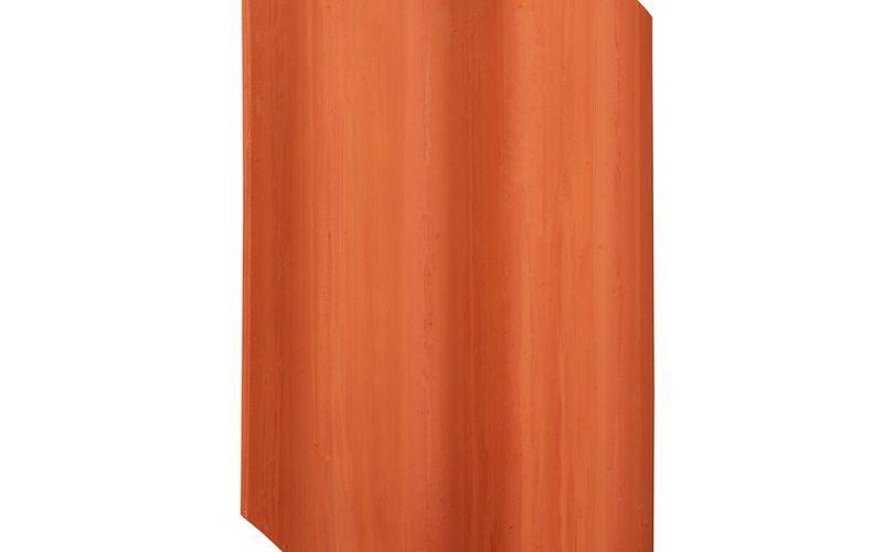 Monier Vittinge T11, rindu dakstiņš, viscaur krāsots, ķieģeļsarkans