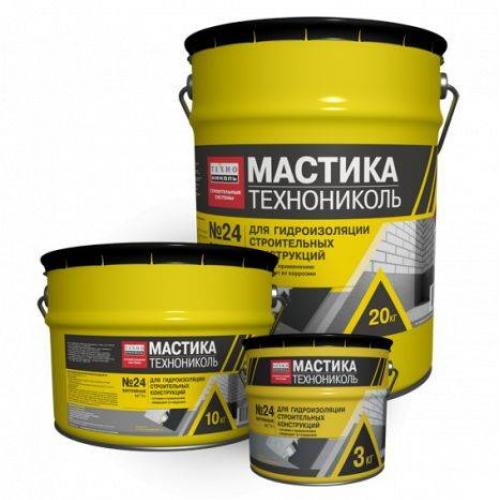 Techno Nicol Bitumena mastika MGTN Nr.24 10kg