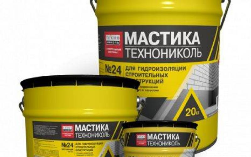 Techno Nicol Bitumena mastika MGTN Nr.24 20kg