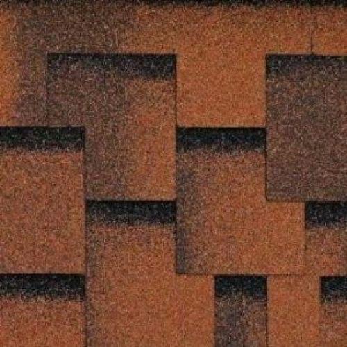 Technonicol bitumena šindeļi Accord Jive brūns-kontrasts, 3m2