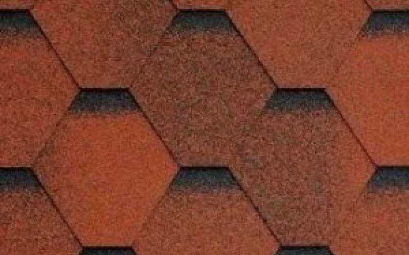 Technonicol bitumena šindeļi Sonata Samba Sarkans, 3m2