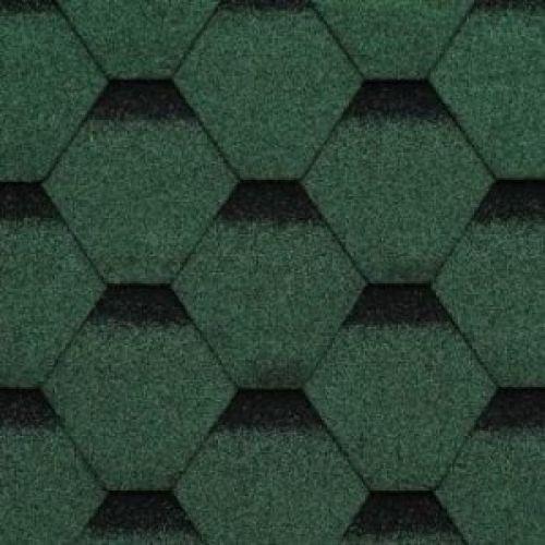Technonicol bitumena šindeļi Sonata Samba Zaļš, 3m2