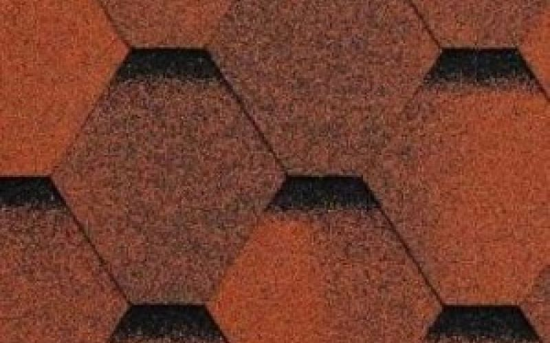 Technonicol bitumena šindeļi Sonata Versales Sarkans, 3m2