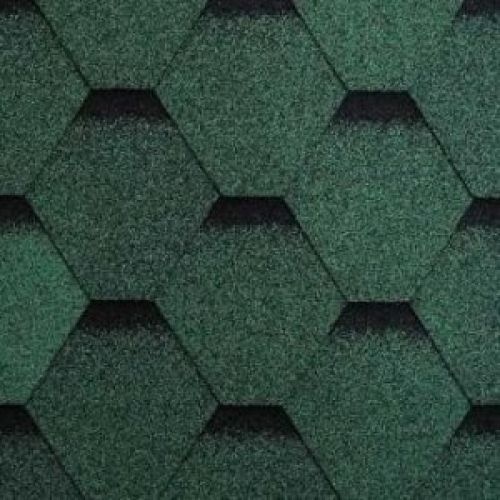 Technonicol bitumena šindeļi Sonata Versales Zaļš, 3m2