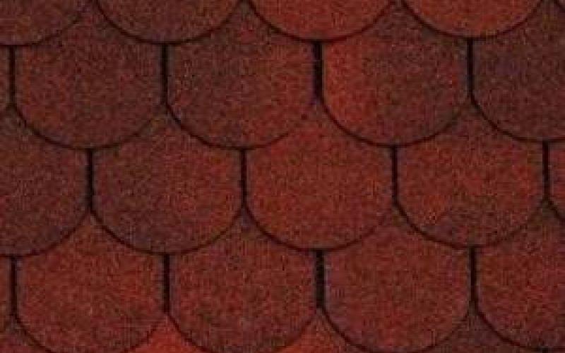 Technonicol bitumena šindeļi Tango Super Sarkans, 3m2