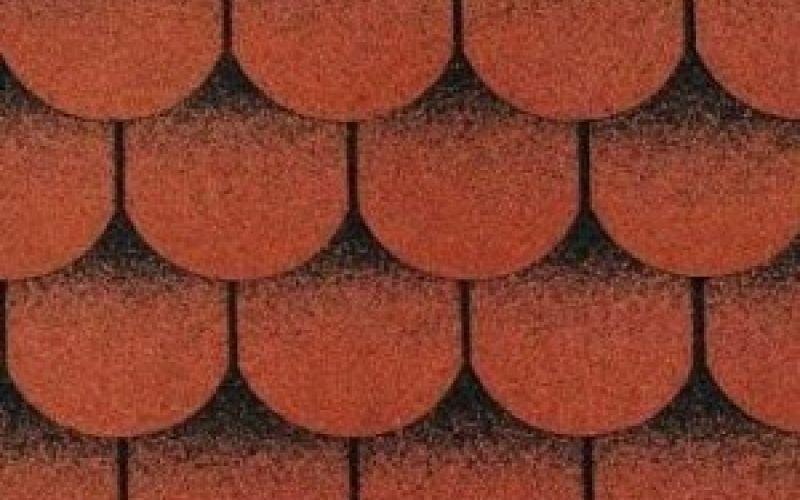 Technonicol bitumena šindeļi Tango Super Sarkans ar ēnu, 3m2
