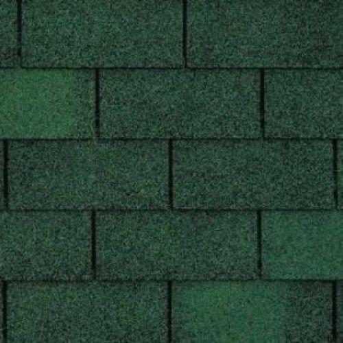 Technonicol bitumena šindeļi Trio Super Zaļš, 3m2