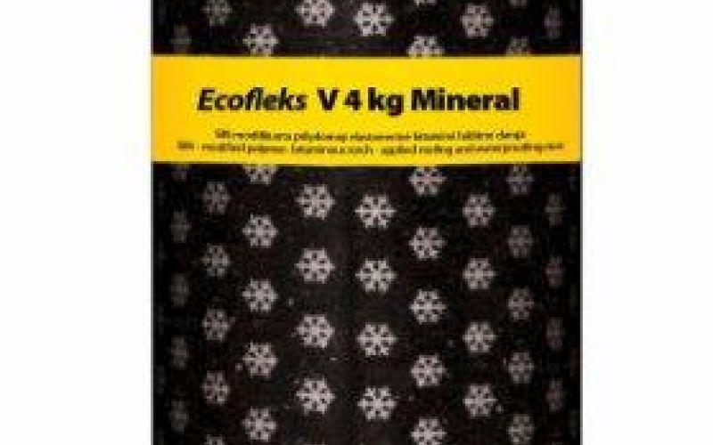 Technonicol Ecofleks PV 4.0 kg EKP, plakano jumtu segums, augšklājs 10m2