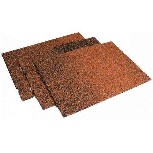 Technonicol kores / karnīzes šindeļi, 5m2 0027 brūns