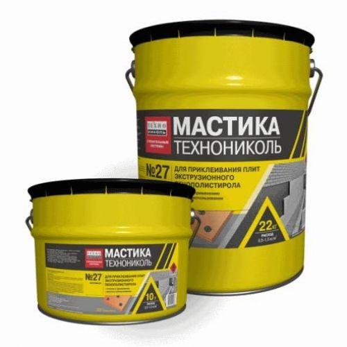 TechnoNicol Mastika XPS Pielimēšanai Nr.27 12kg