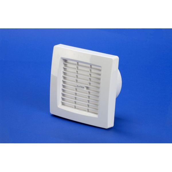 Ventilators ar žalūzijām, taimeri, mitr. sensoru