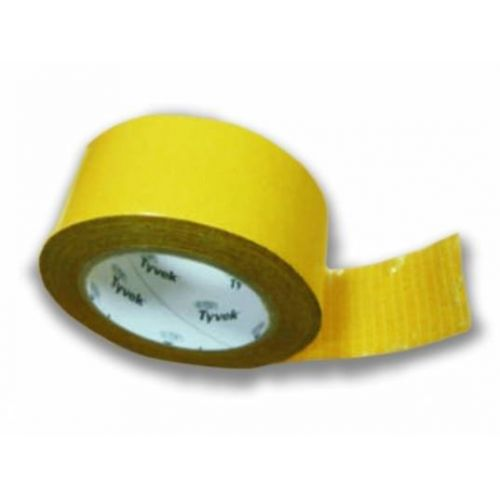 Tyvek Double Sided Tape Divpusēja akrila lente, iekšdarbiem, 50mm, 25m