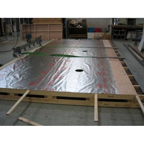 TYVEK DuPont AirGuard Reflective Ar siltuma atstarojoša efektu, 150cm, 75m2