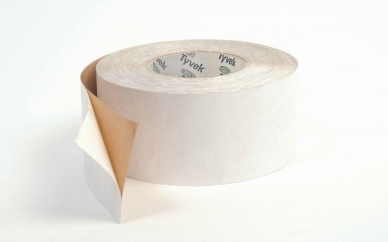 TYVEK TAPE Vienpusēja pašlīmējošā difūzlenta, ārdarbiem, 75mm, 25m