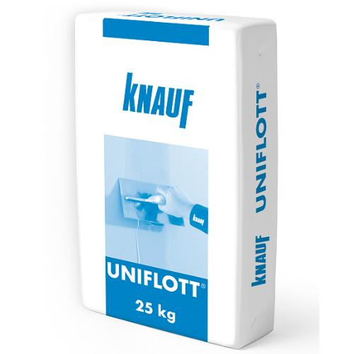 Knauf UNIFLOTT 25 kg špaktele ģipškartona (reģipša) šuvēm