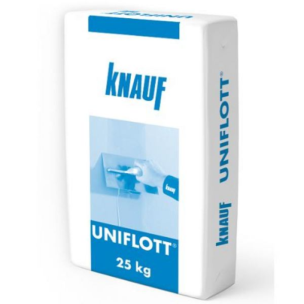 UNIFLOT špaktele reģipša šuvēm KNAUF