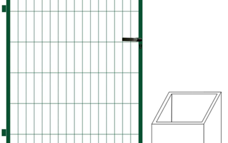 Vārtu vērtne 1,8m x 1m vārtiem (000682)