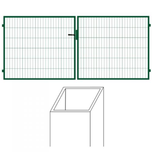 Vārtu vērtnes 1,5m x 4m vārtiem (000684)