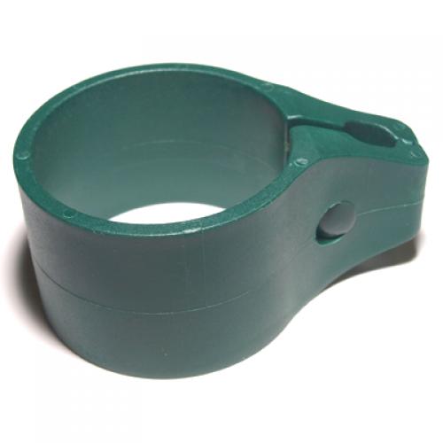 Vienpusējs stiprinājums Ø60mm, zaļš (000378)