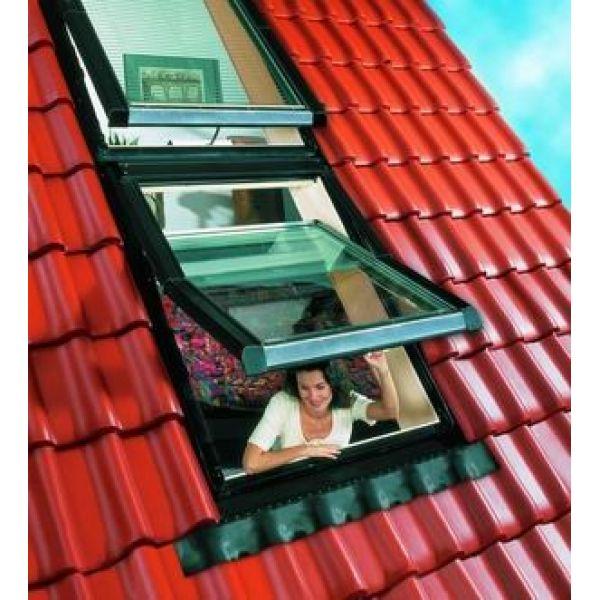 ROTO pieslēgums viļņotiem jumtiem