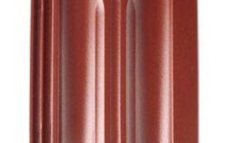 Monier Granat 13V, rindu dakstiņš, glazēts, ķiršsarkans