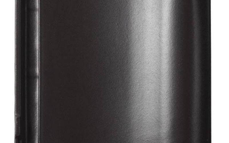 Monier Nova, rindu dakstiņš, angobets, melns