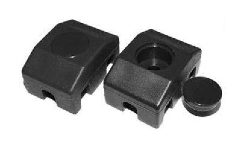 Paneļu fiksators 40x30mm/ Ø6mm, melns (000283)