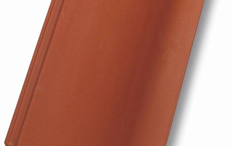 Monier Nortegl, rindu dakstiņš, viscaur krāsots, ķieģeļsarkans