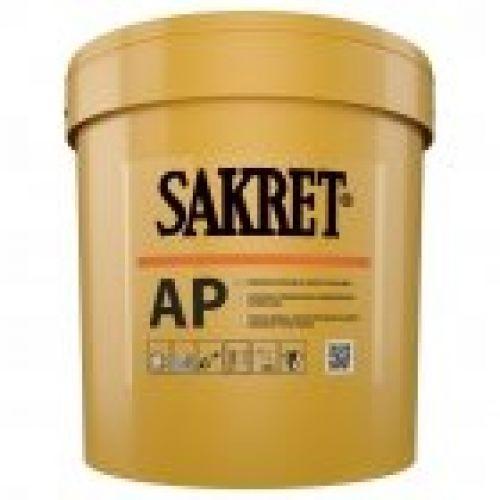 SAKRET AP gatavais akrila tonējamais dekoratīvais apmetums (biezpiens) 1.5mm 25kg